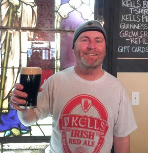 Dave Fleming, Brewmaster Kells Brewery